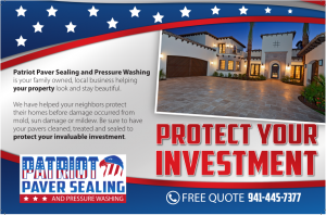 Protect Your Paver Investment with Patriot Paver Sealing and Pressure Washing